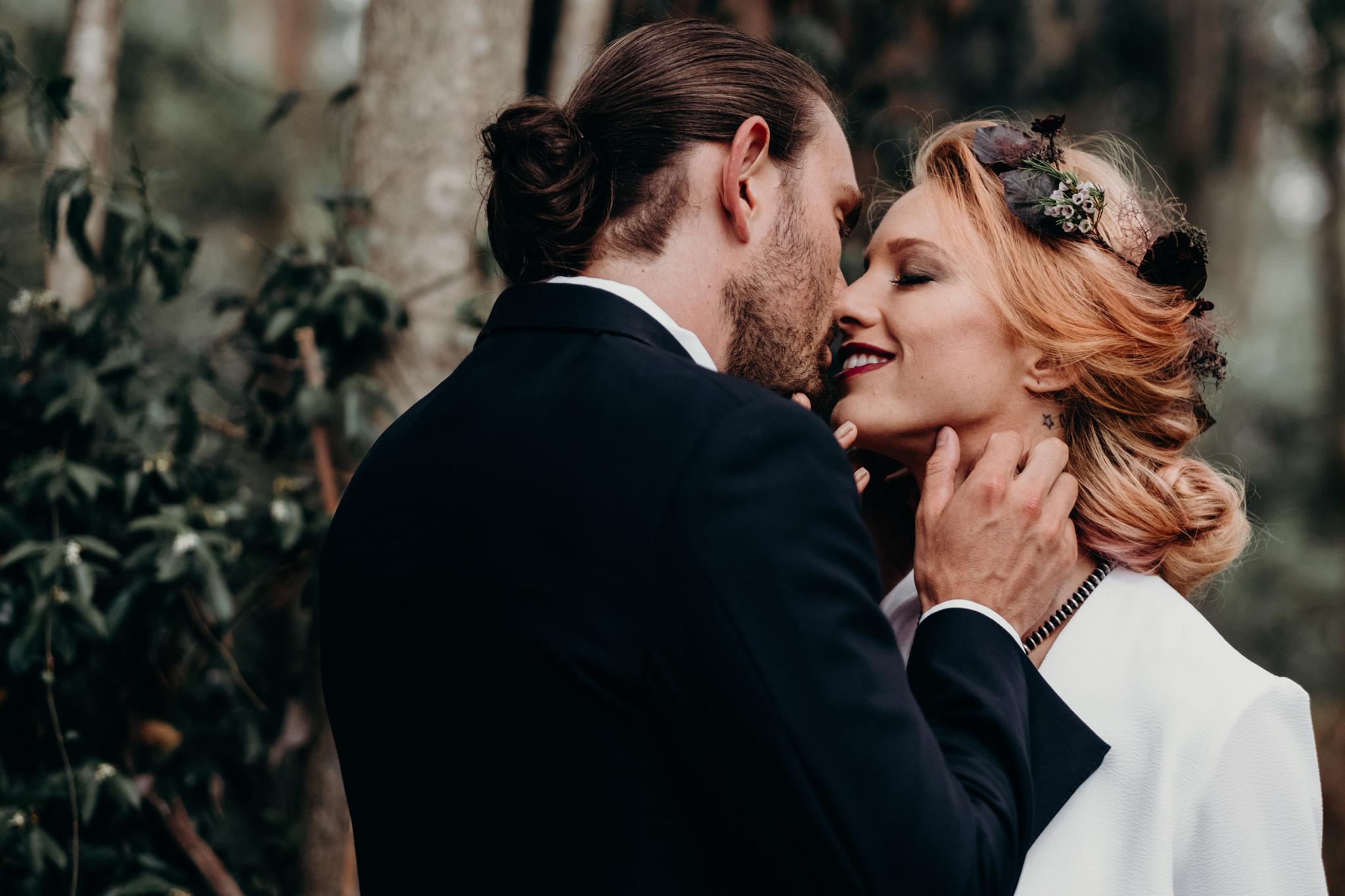 Forest Elopement Fox & Kin Australian Destination Wedding Photographer Coffs Harbour Byron Bay Port Macquarie Grafton
