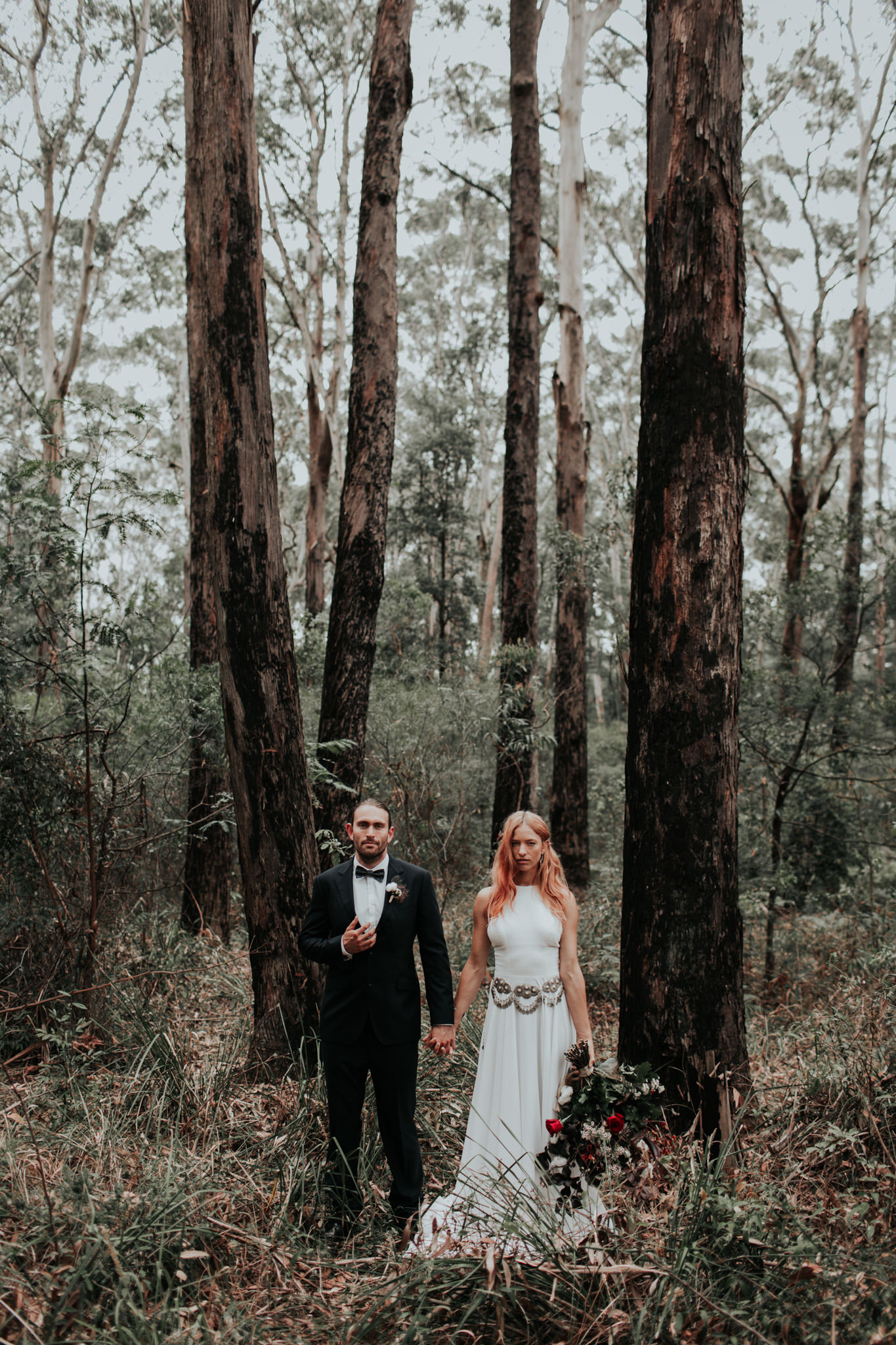 Forest Elopement Fox & Kin Australian Destination Wedding Photographer Coffs Harbour Byron Bay Port Macquarie Grafton