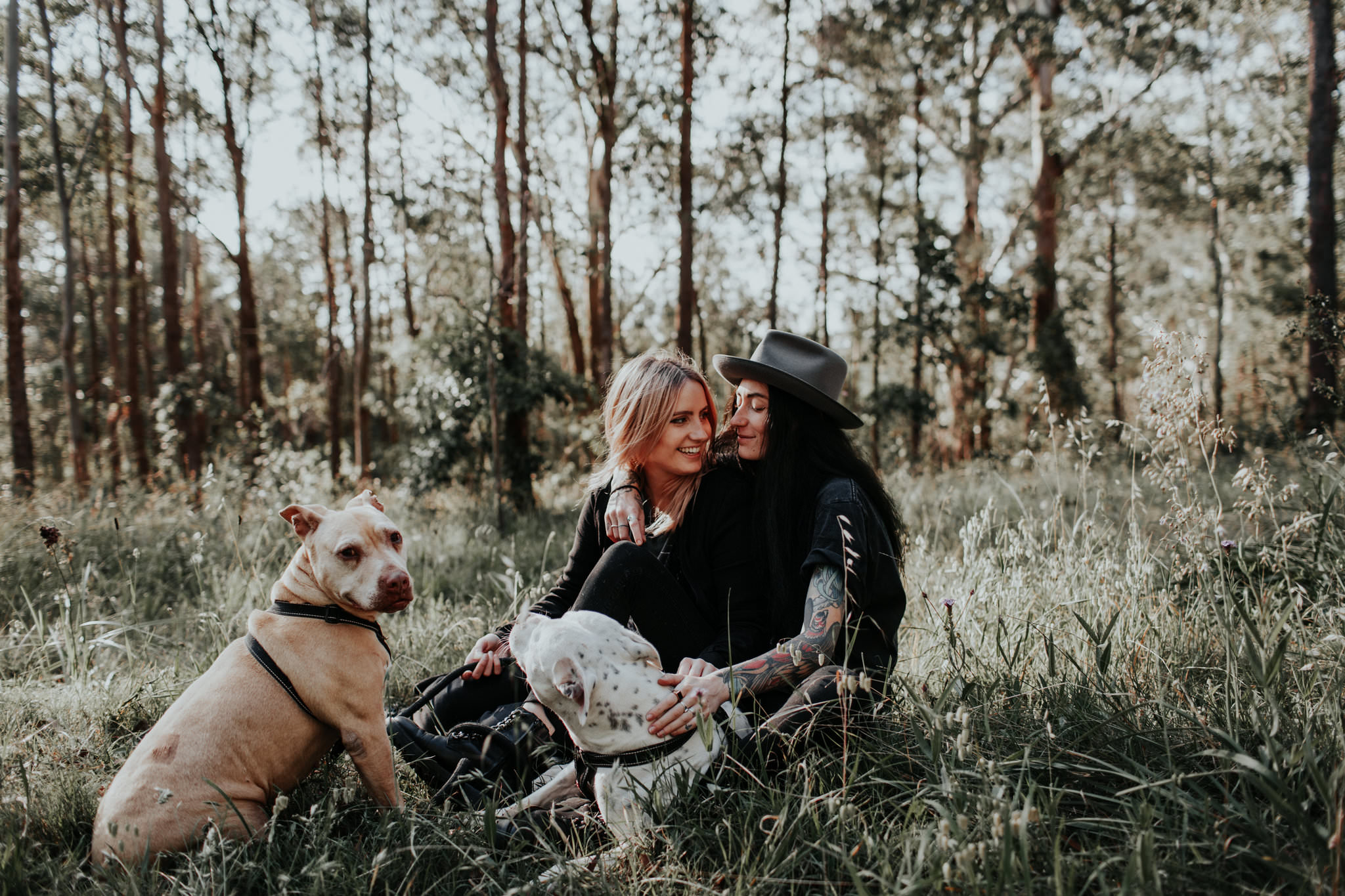 Rainbow Love Shoot SSM Sydney Australia Marriage Equality Couple Session Dogs